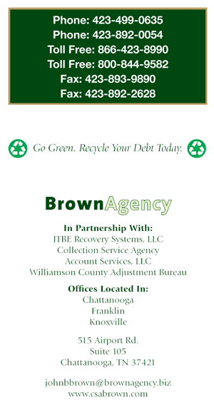 Contact The Brown Agency